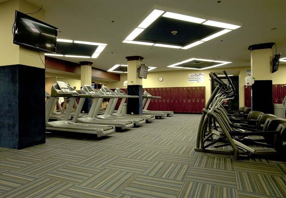 structure property gym sport venue flooring condominium living room Lobby