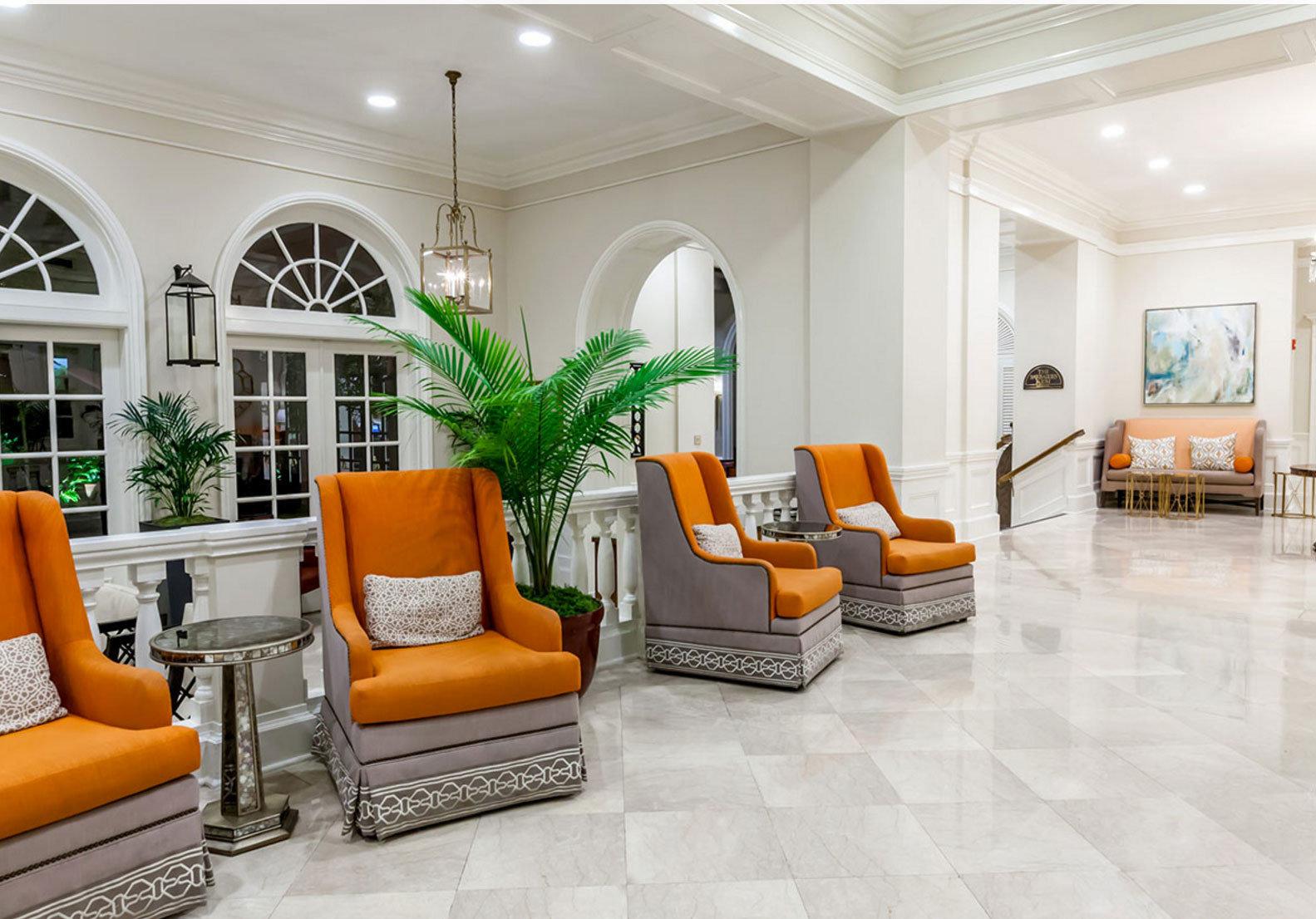 living room property Lobby orange condominium home hardwood flooring mansion wood flooring
