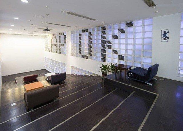 property condominium Lobby flooring living room office loft waiting room