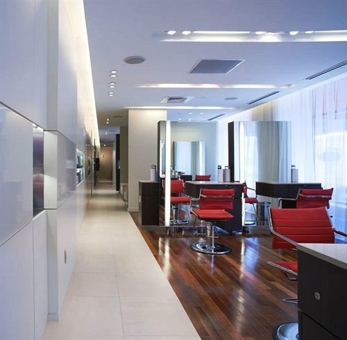 property lighting condominium office headquarters Lobby