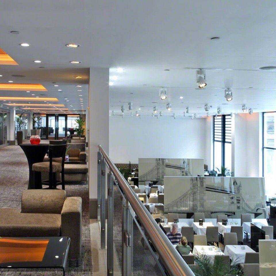 Lobby headquarters condominium restaurant worktable