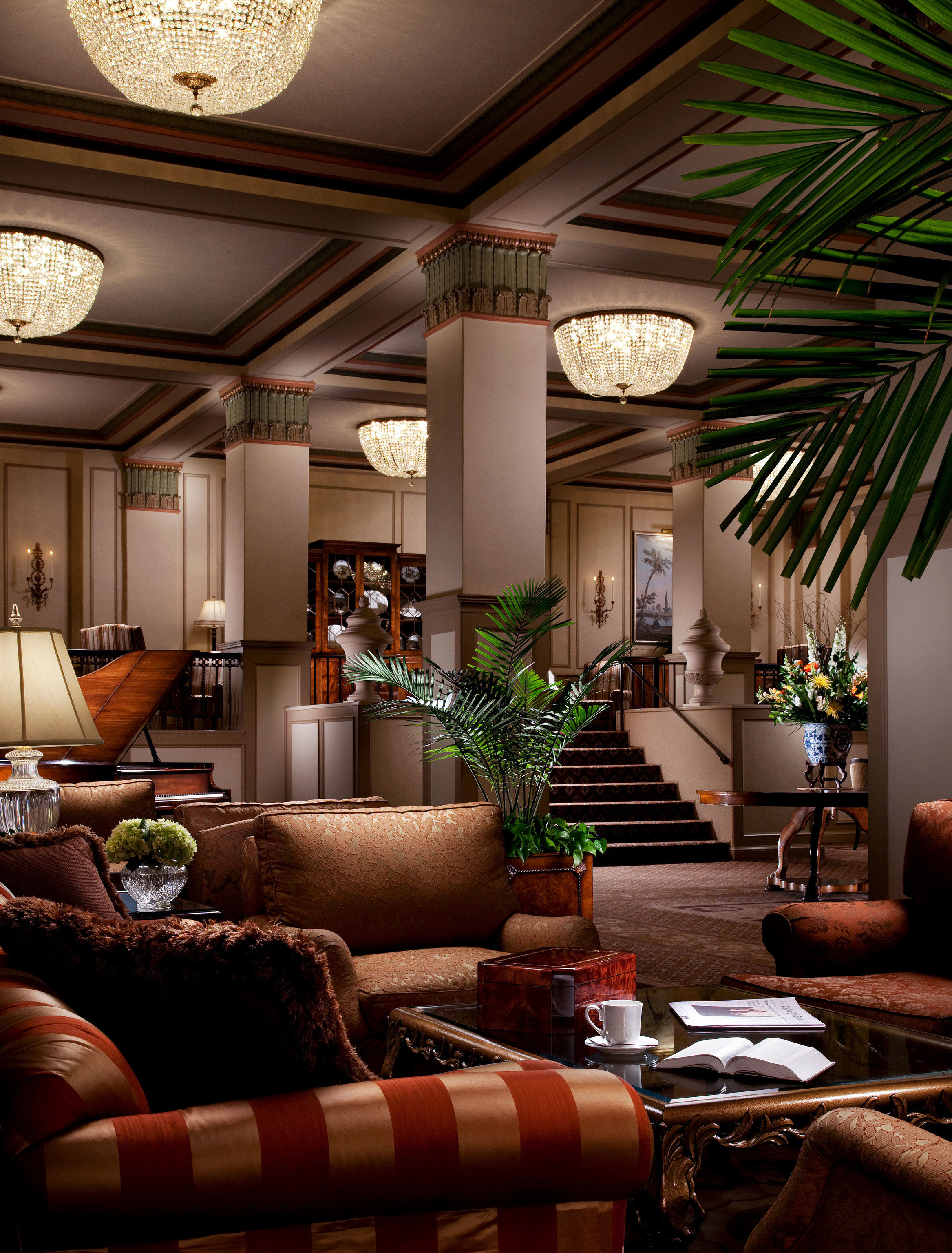 sofa Lobby living room property home mansion condominium screenshot leather