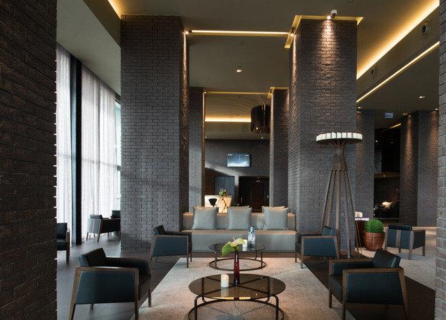 property Lobby living room condominium lighting home loft