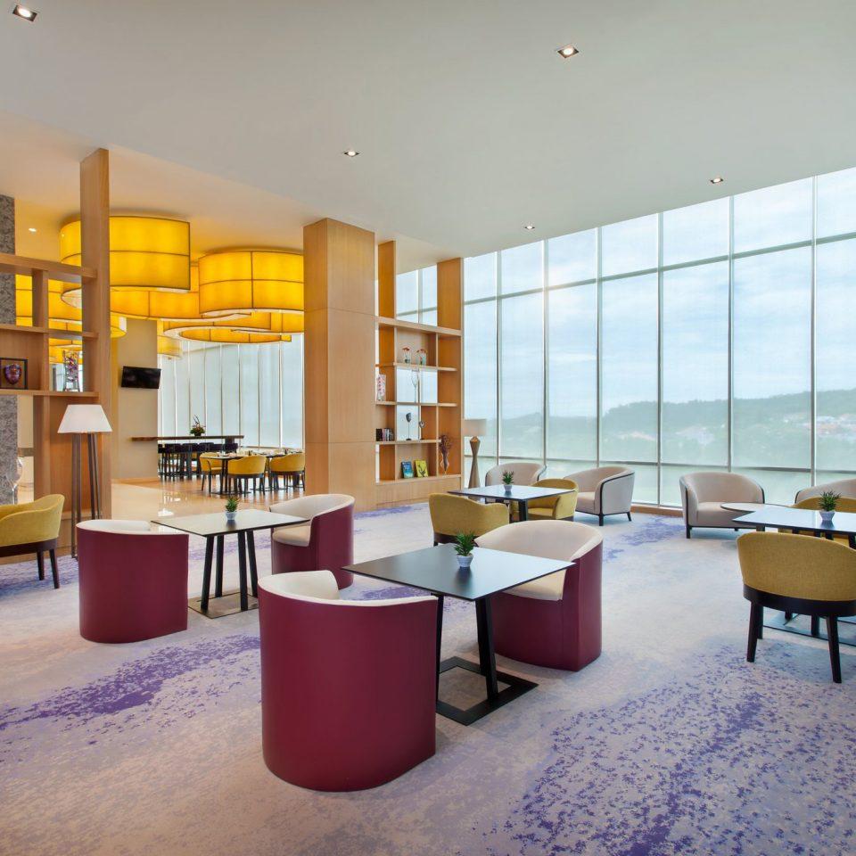 property Lobby home living room restaurant condominium