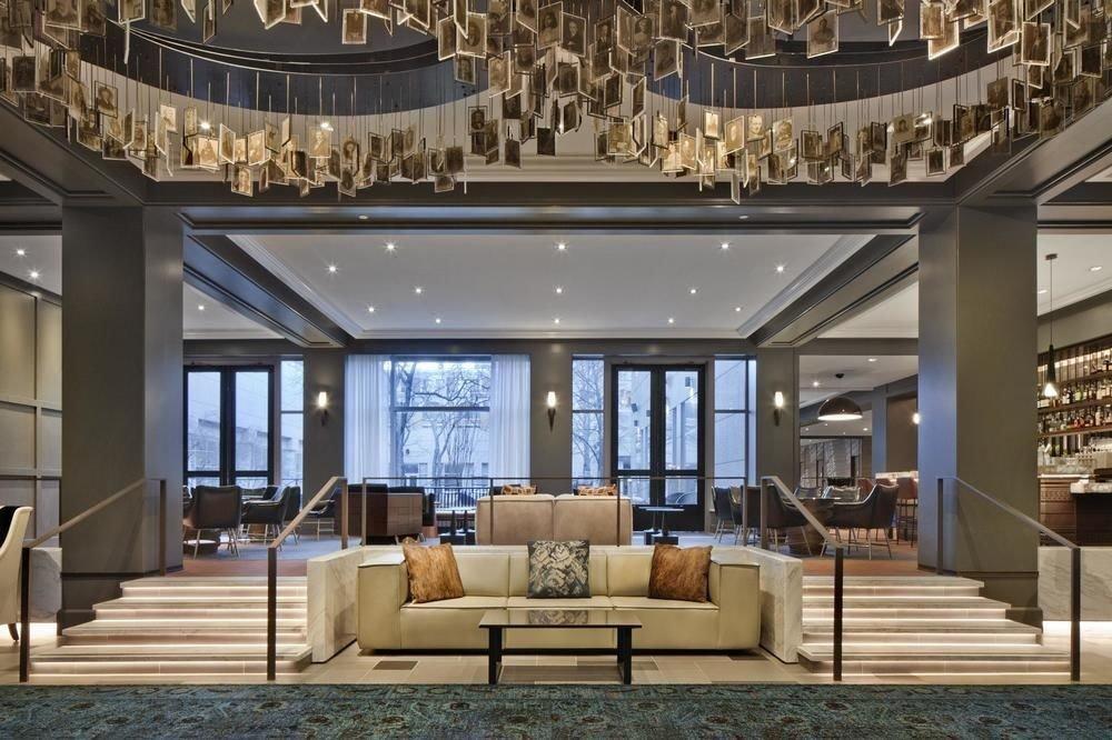 property Lobby living room condominium home