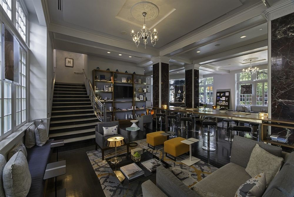 property Lobby living room condominium home mansion
