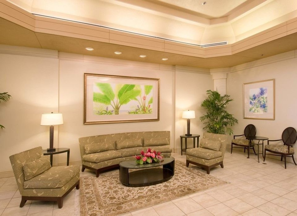 property Lobby living room condominium home waiting room