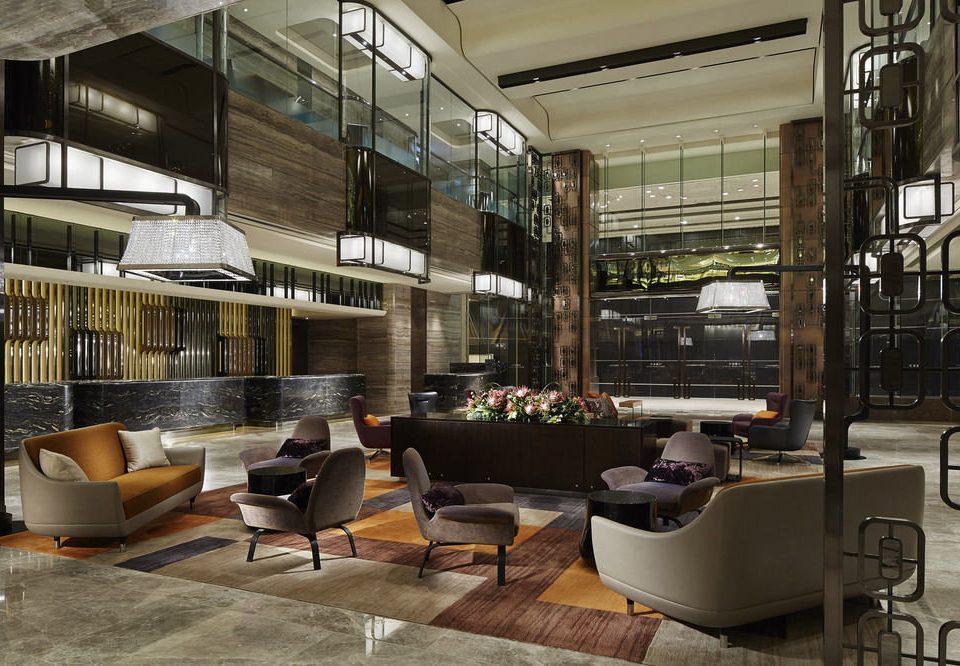 property Lobby condominium home vehicle restaurant living room