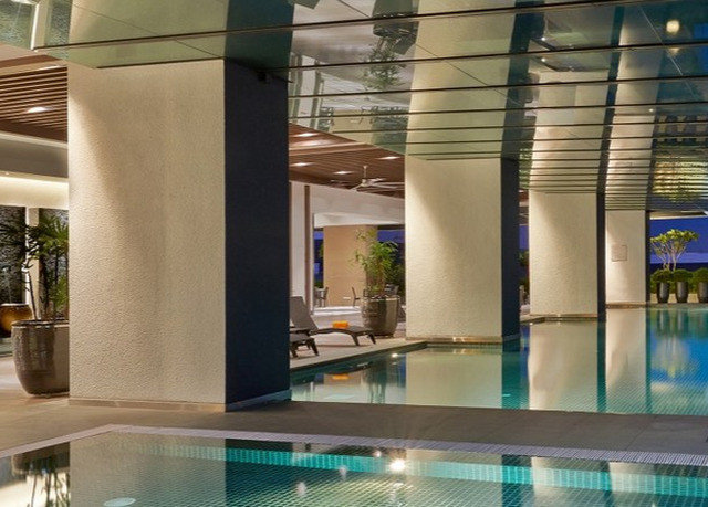 swimming pool property condominium leisure centre Lobby professional
