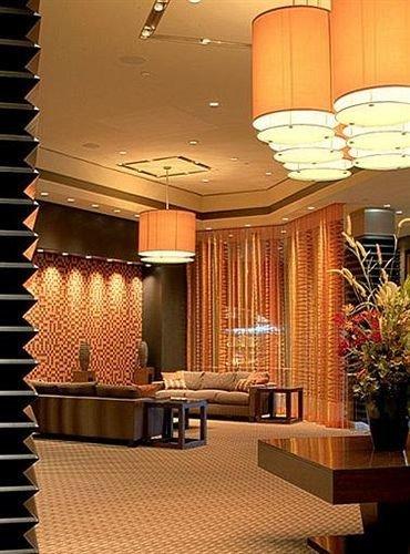 Lobby lighting condominium restaurant living room