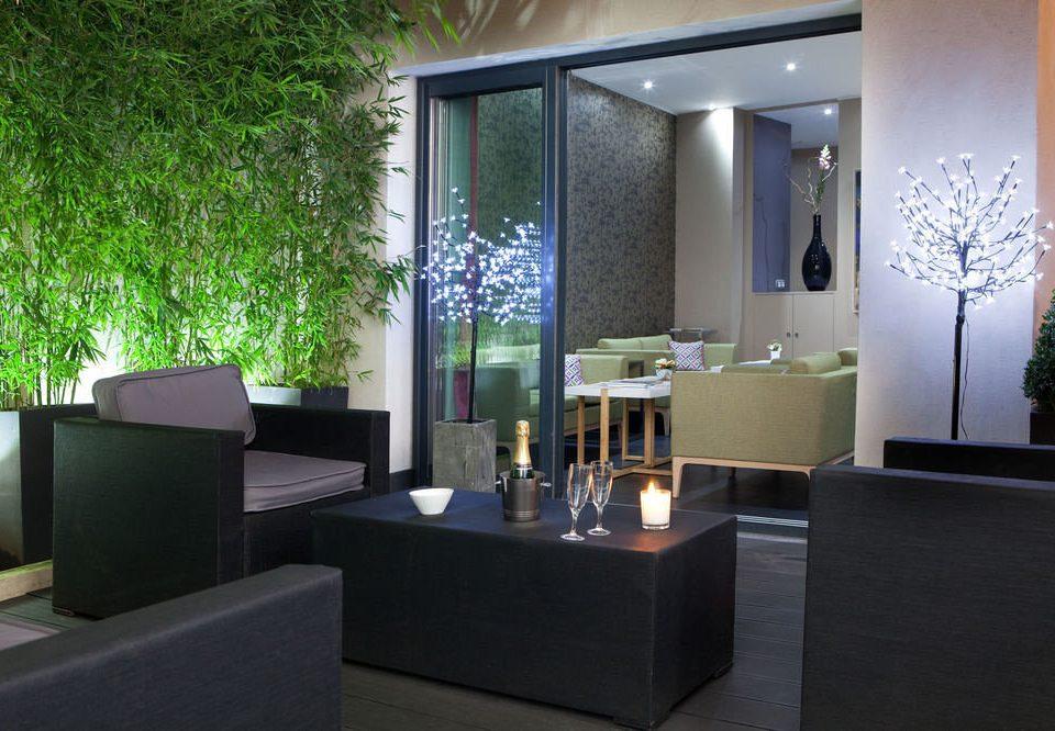 property Lobby lighting living room condominium