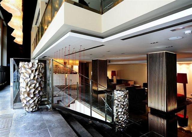 property Lobby lighting condominium