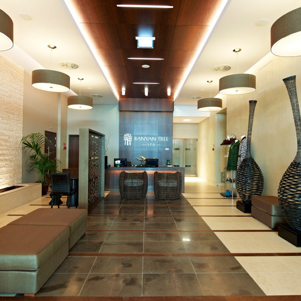Lobby property lighting condominium