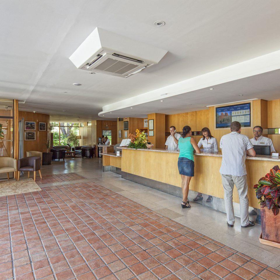 Lobby property condominium