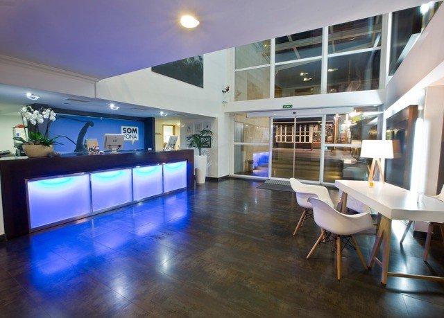 property Lobby condominium recreation room