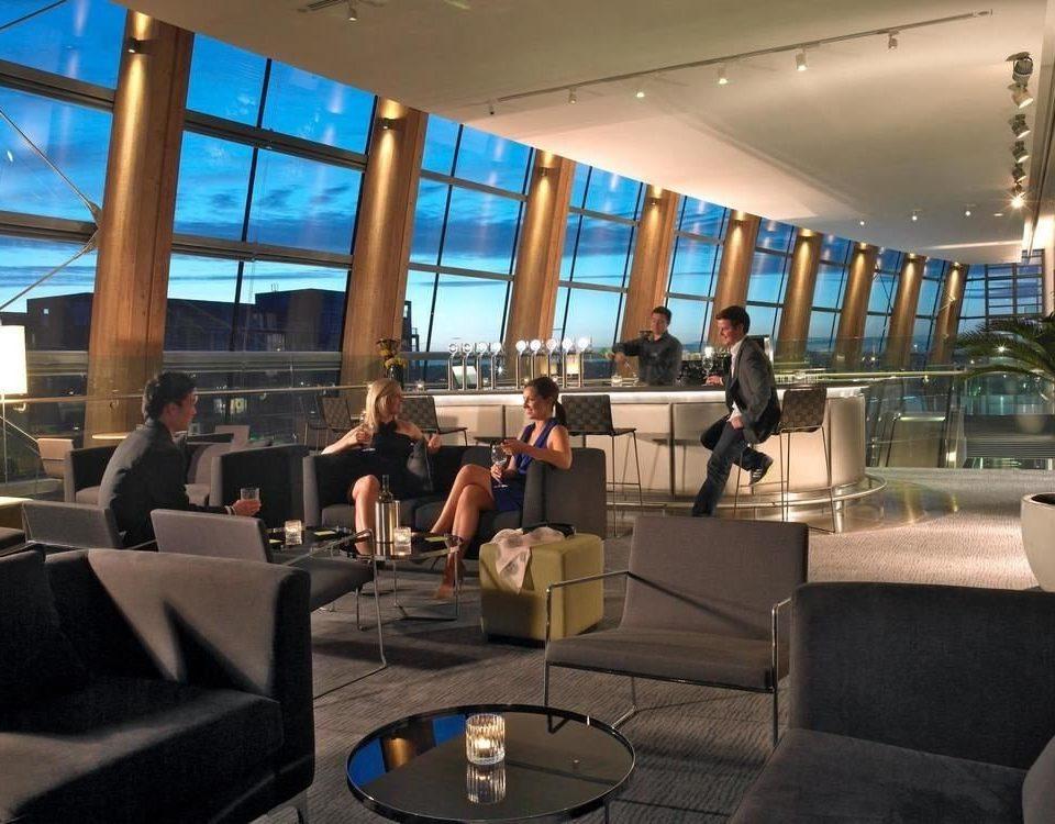 Lobby restaurant condominium