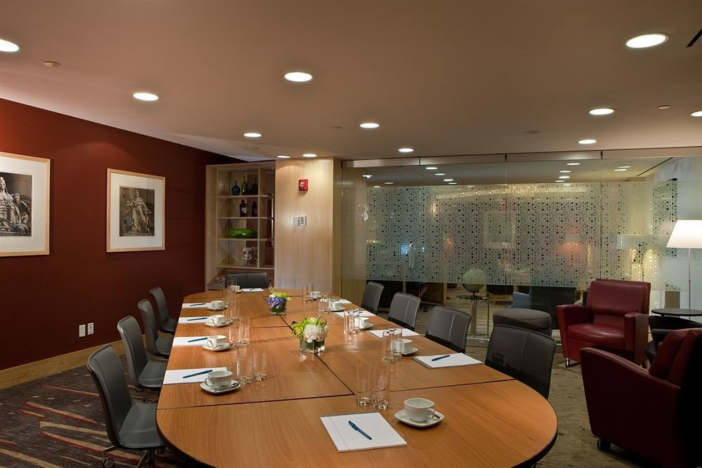 Lobby conference hall restaurant function hall recreation room living room leather conference room dining table