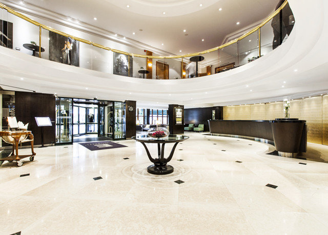 Lobby property conference hall headquarters convention center