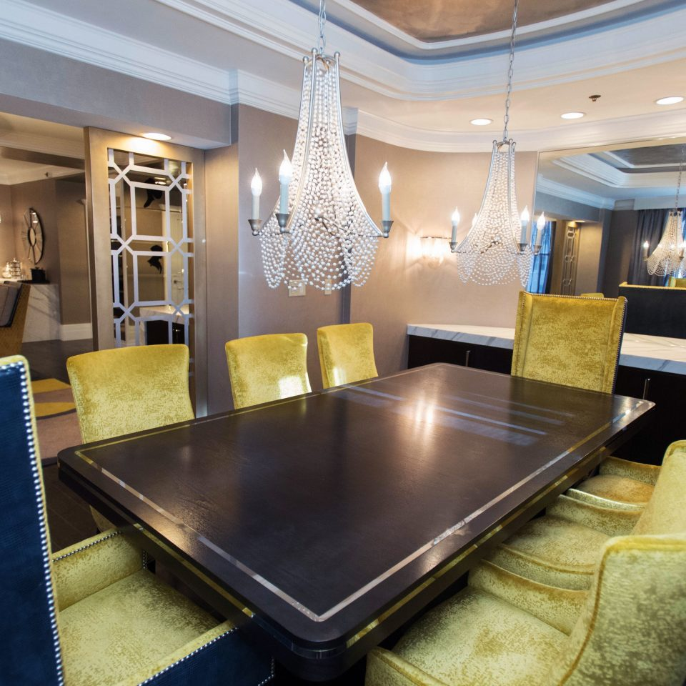 Lobby conference hall living room function hall recreation room dining table