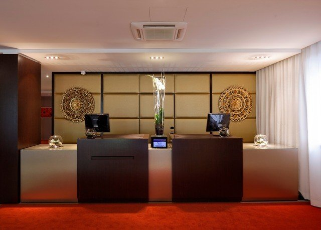 property Lobby conference hall receptionist function hall