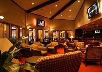 Lobby restaurant function hall recreation room convention center