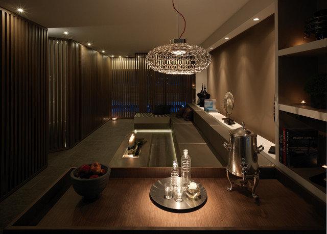 Lobby lighting counter