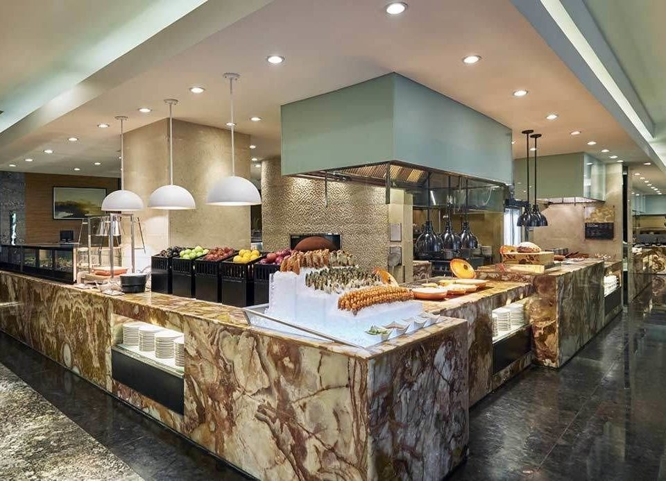 property Lobby countertop restaurant