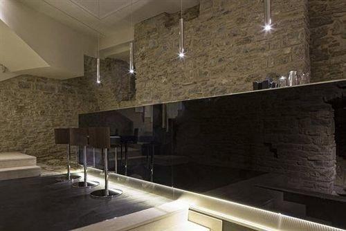 property lighting daylighting flooring loft Lobby stainless