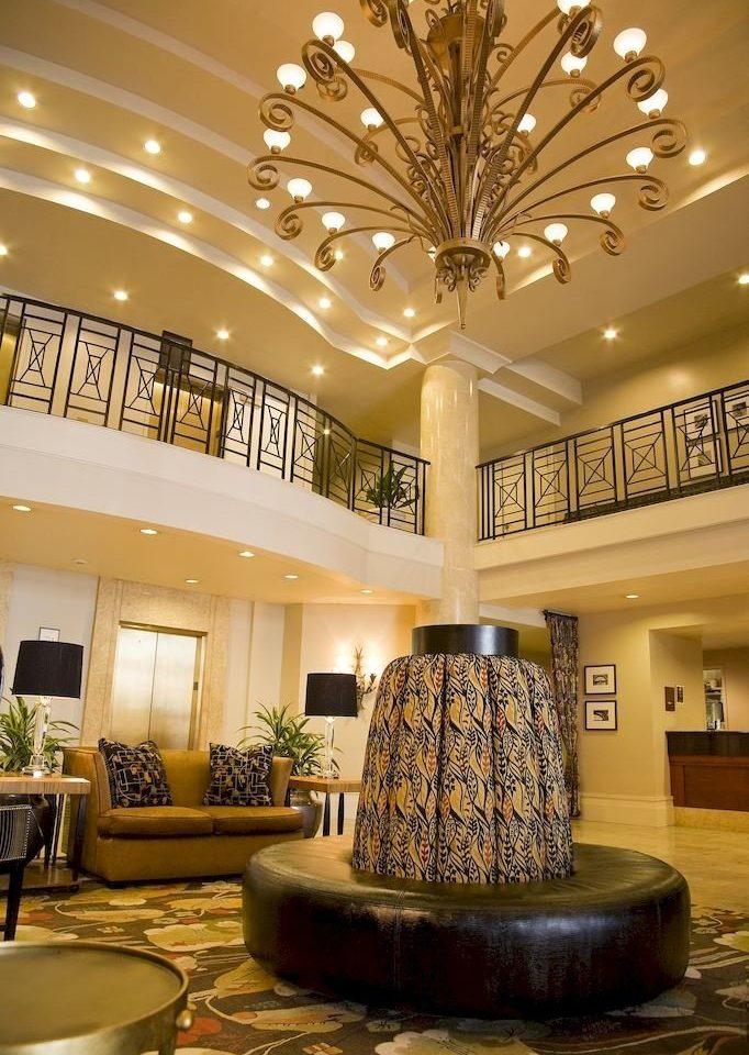 Lobby living room home lighting mansion plant fancy