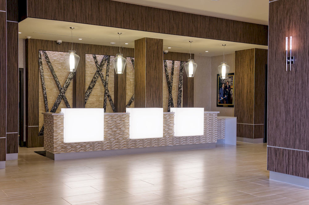 property Lobby hardwood flooring lighting home wood flooring living room hall