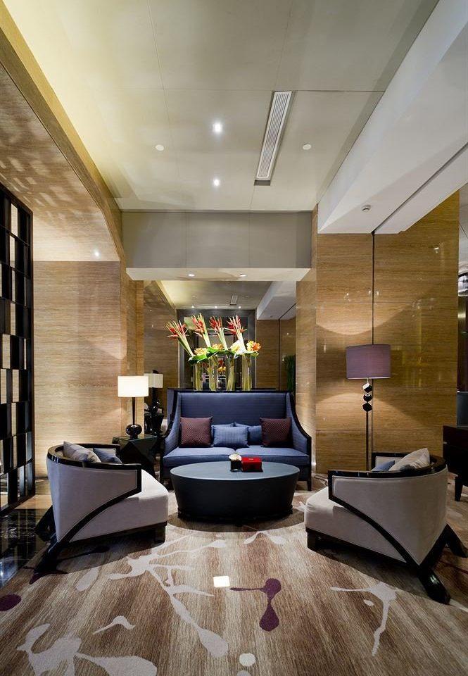 Lobby living room property home flooring hardwood lighting wood flooring loft hall