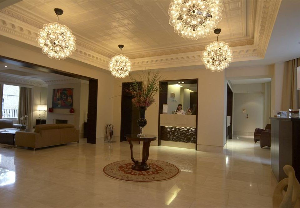 Lobby property living room home mansion lighting hall flooring