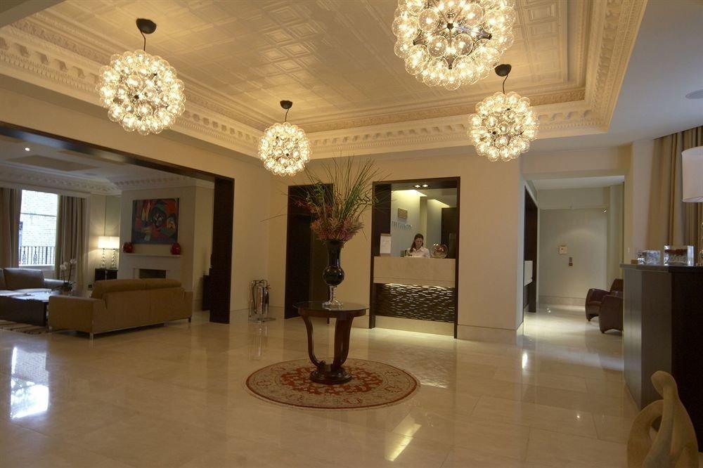 Lobby property living room home mansion lighting hall flooring