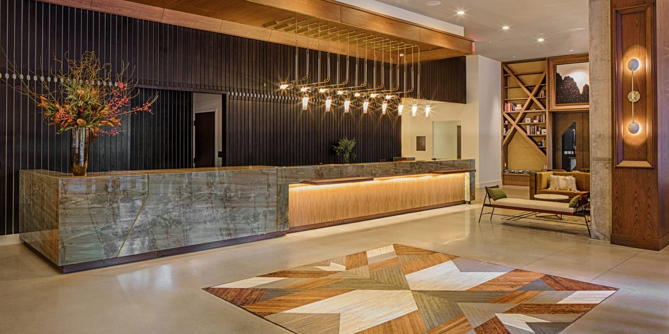 Lobby property flooring hardwood home wood flooring living room mansion