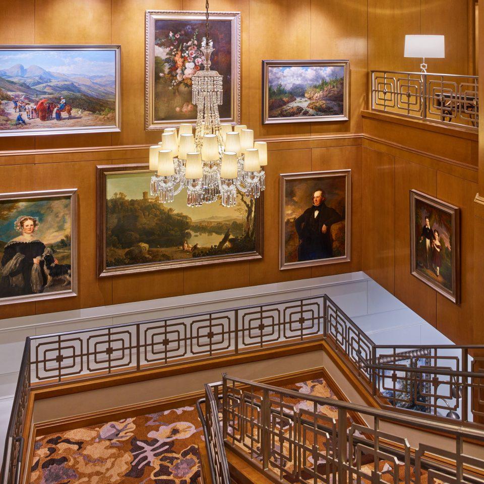 Lobby tourist attraction flooring hardwood museum