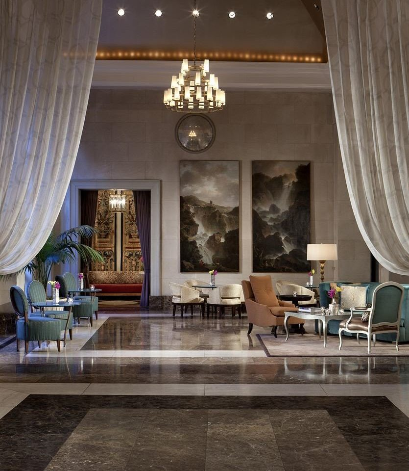 Lobby property living room home lighting flooring mansion tub