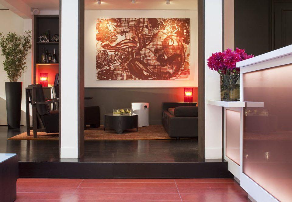 Lobby living room home modern art flooring tourist attraction