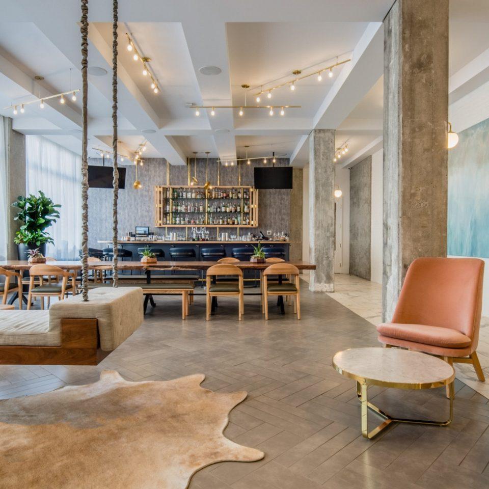 Lobby living room loft interior designer flooring