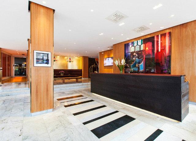 Lobby flooring interior designer