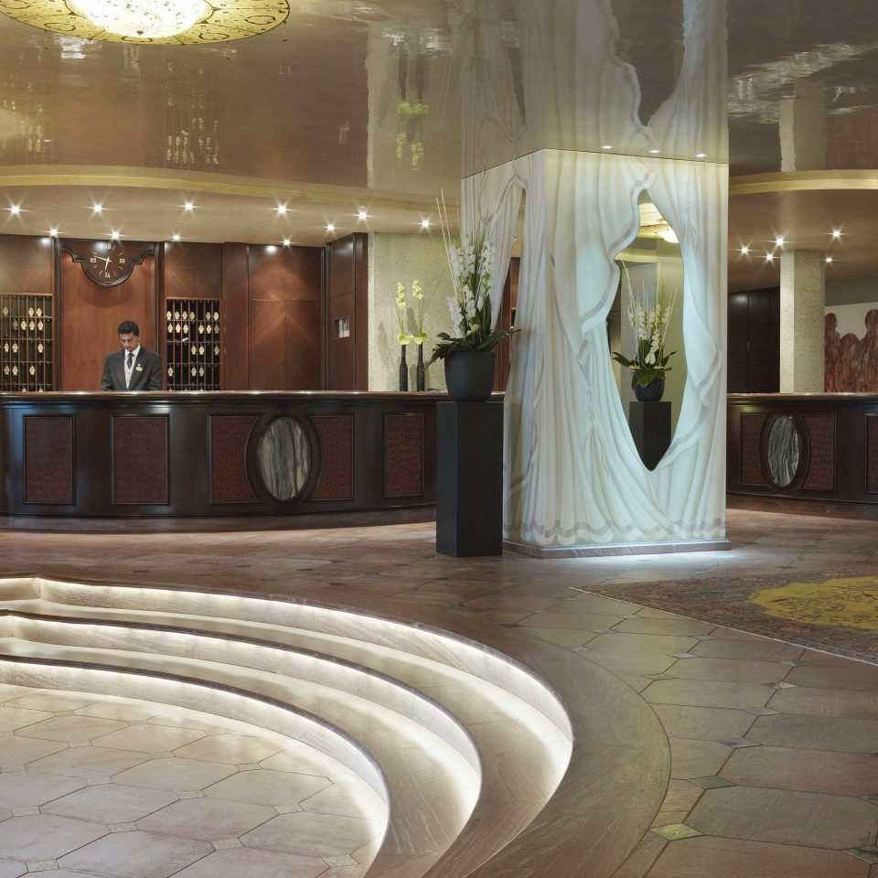 Lobby flooring lighting mansion