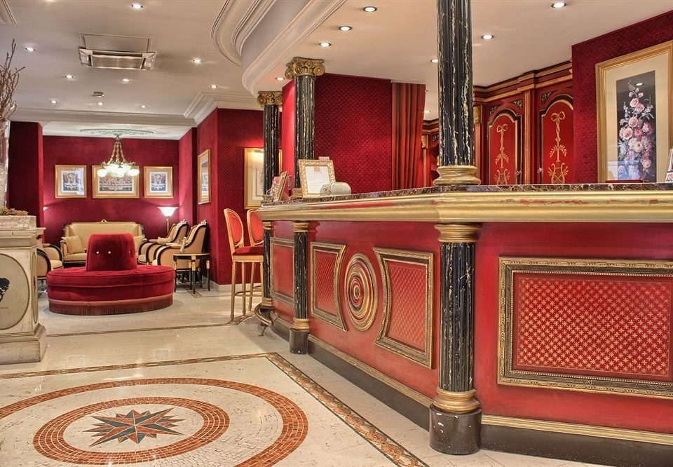 red Lobby living room recreation room flooring palace mansion synagogue