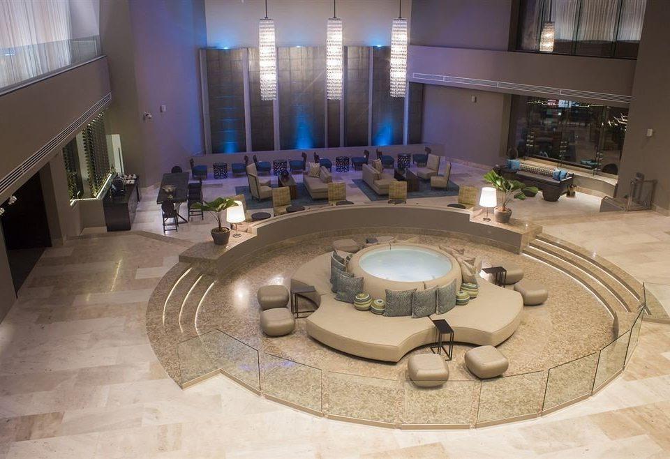 Lobby tourist attraction flooring