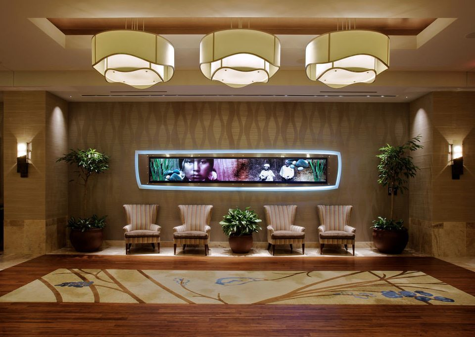 Lobby lighting home function hall recreation room living room restaurant