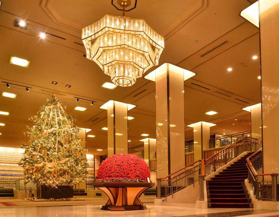 Lobby lighting function hall