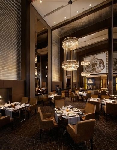 Lobby restaurant lighting function hall