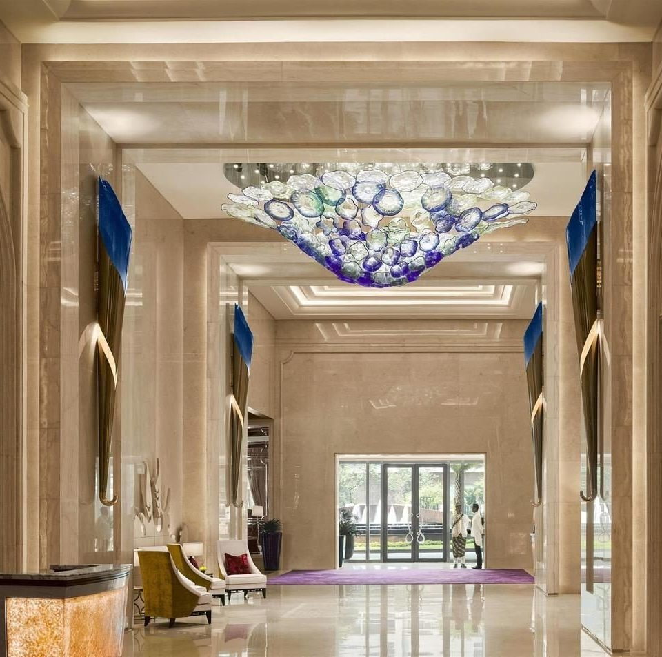 Lobby home mansion hall glass