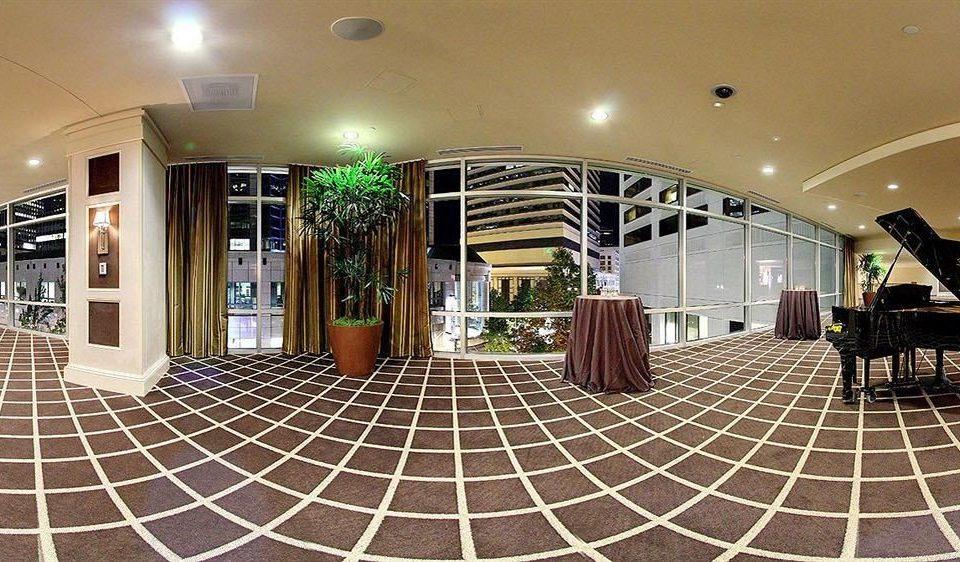 Lobby green rug tile tiled