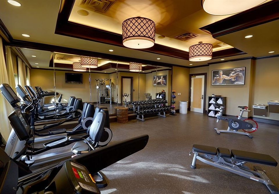 structure sport venue recreation room gym Lobby