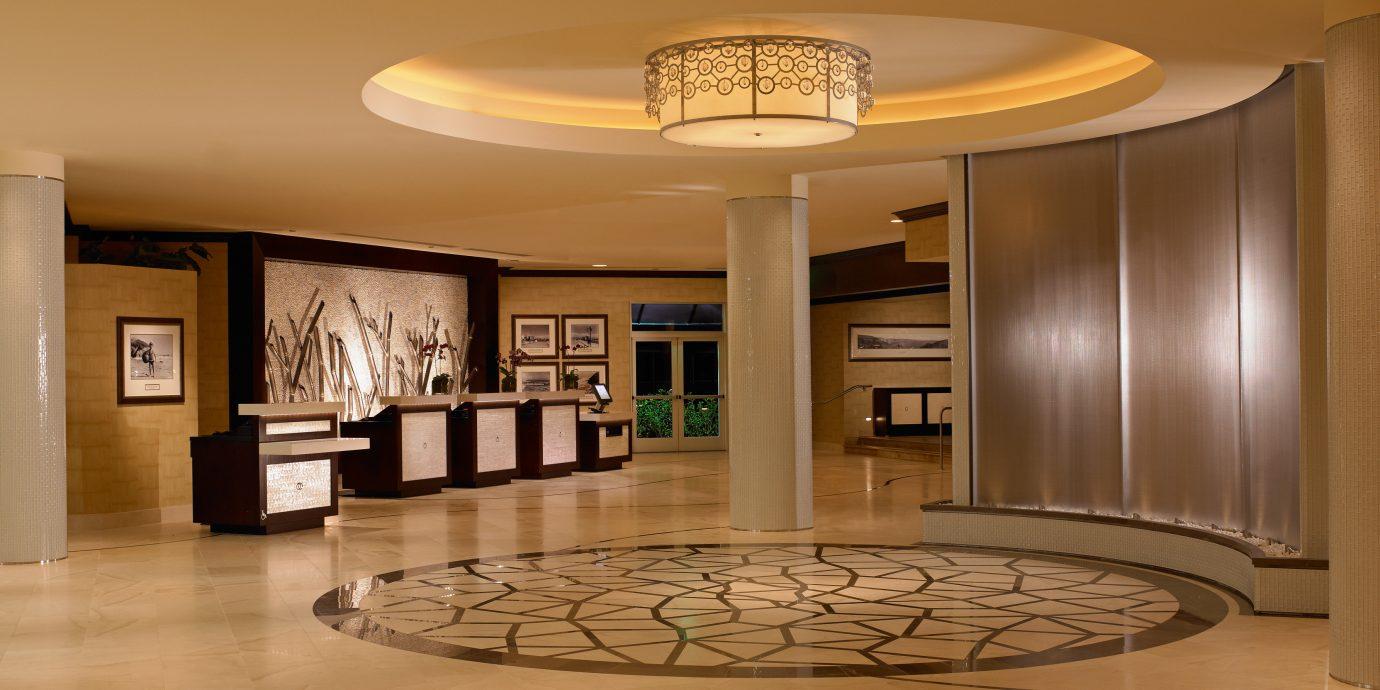 Lobby property living room home lighting wood flooring hall