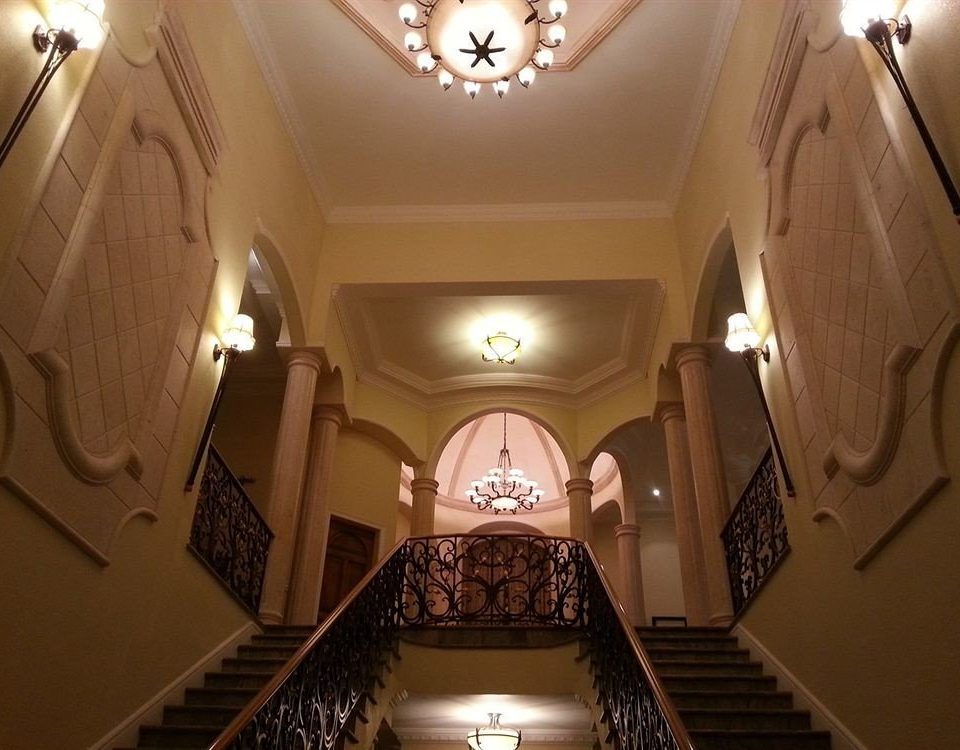 mansion lighting hall Lobby
